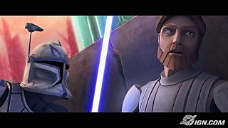 Clone Wars Rex and Obi