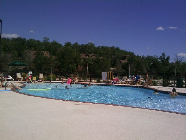 Today: Poolside in Brsnson, MO